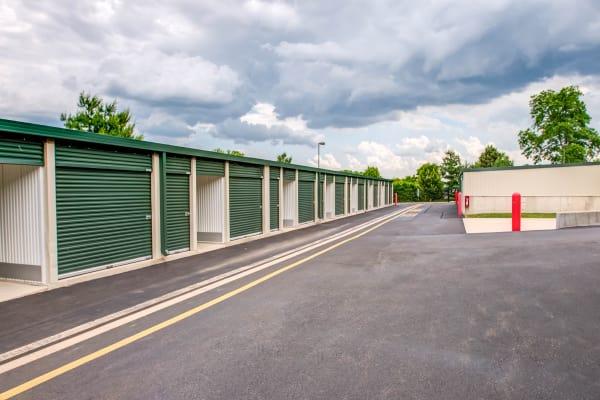 Outdoor units at Metro Self Storage in Trevose, Pennsylvania