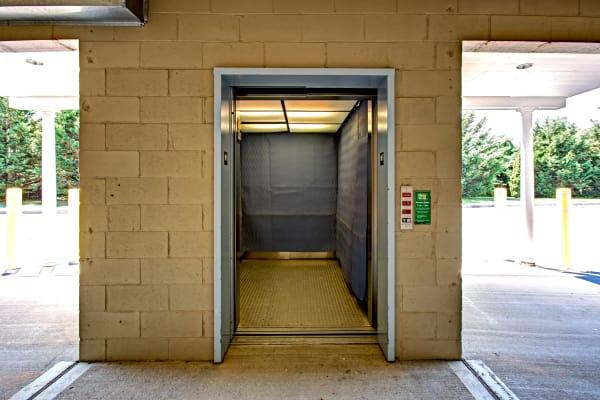 Elevator at Metro Self Storage in Southampton, New York