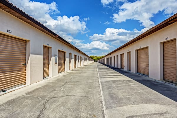 Outdoor units at Metro Self Storage in Fort Myers, Florida