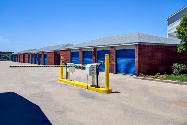 Access gate at Metro Self Storage in Topeka, Kansas