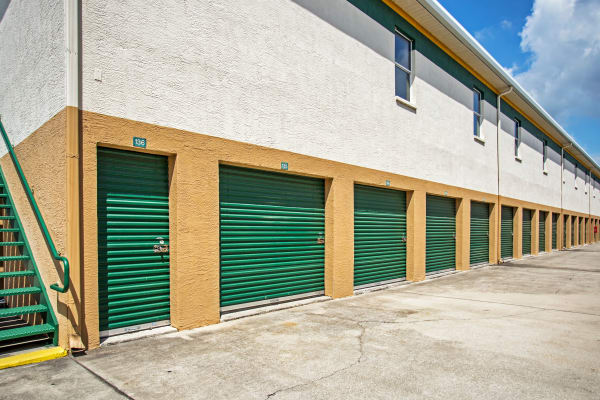 Outdoor units at Metro Self Storage in Wesley Chapel, Florida
