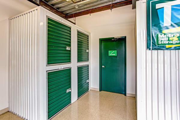 Metro Self Storage offers small units in West Chicago, Illinois