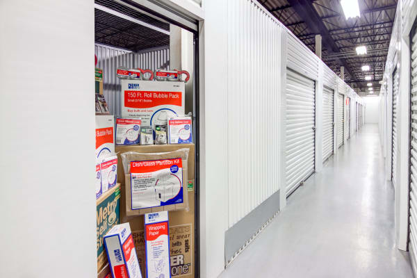 Indoor units at Metro Self Storage in West Haven, Connecticut