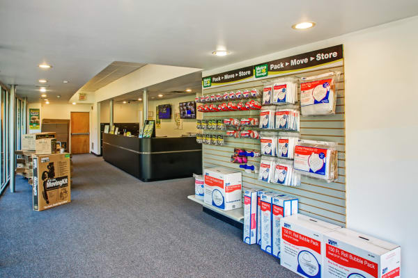 Leasing office reception at Metro Self Storage in Warminster, Pennsylvania