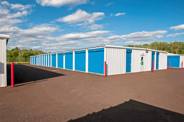 Outdoor units at Metro Self Storage in Warminster, Pennsylvania