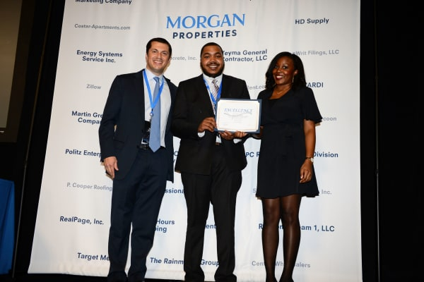 Morgan Properties team winning awards for multifamily, real estate, workplace, and leadership programs