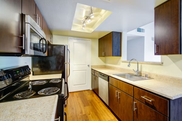 Spacious Kitchen at