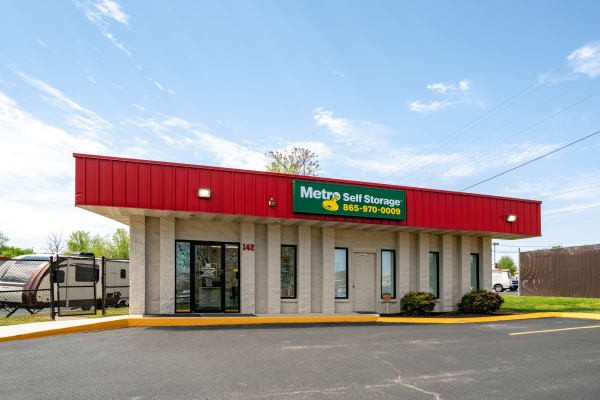 Office Building at Metro Self Storage in Alcoa, TN