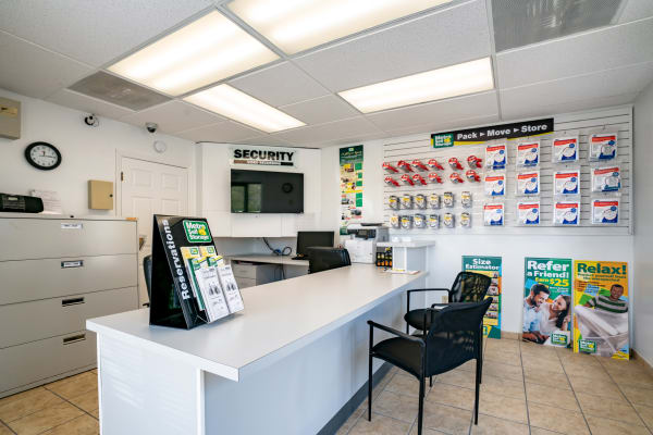 Office at Metro Self Storage in Alcoa, TN
