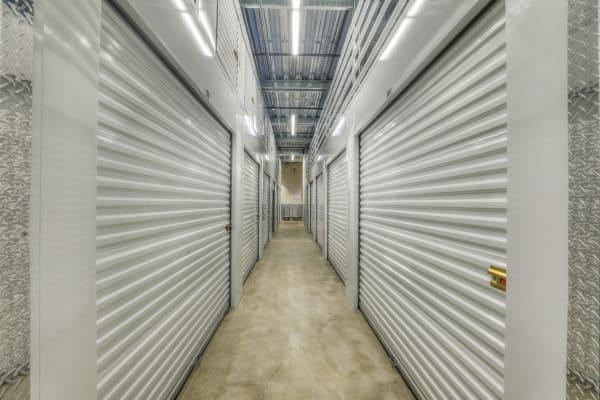 Interior hallway of StorQuest Self Storage in Denver