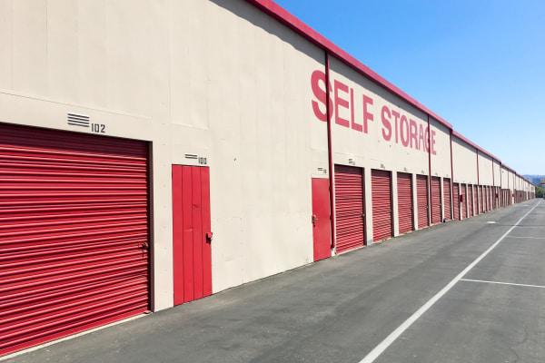 Self storage building exterior in Canoga Park