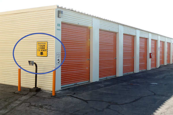 Climate controlled storage units at AV Self Storage in Palmdale, CA