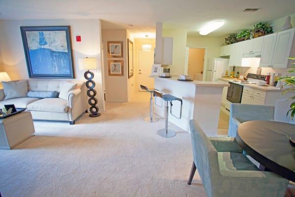 Living room at Legends Winter Springs in Winter Springs, Florida