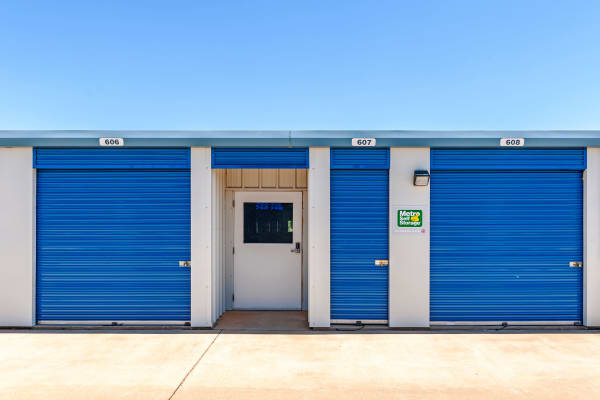 Outdoor Units at Metro Self Storage in Lubbock, Texas