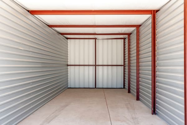 Huge storage unit at Metro Self Storage in Lubbock, Texas