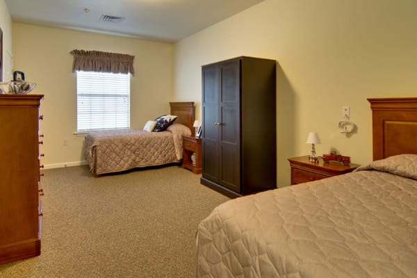 Shared living spaces available at Olive Grove Terrace Senior Living in Olive Branch, Mississippi