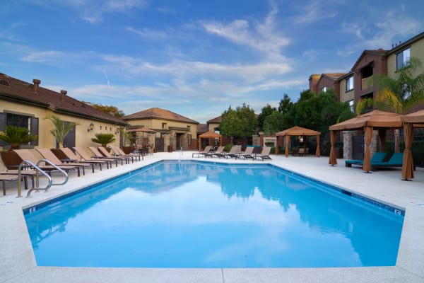 Swimming pool at Links at Westridge in Valencia, California