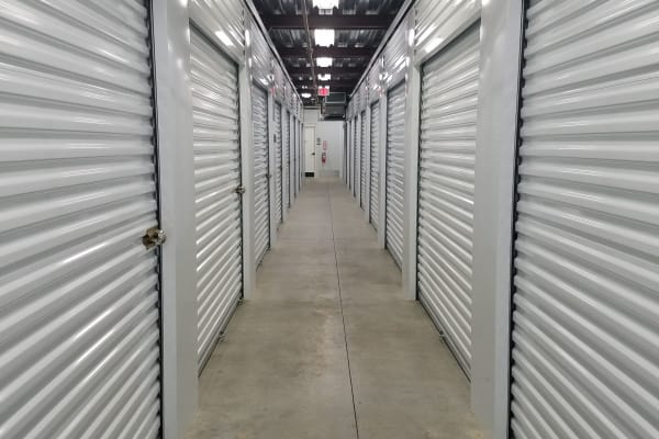 Climate controlled storage units at Mini Storage Depot in Nashville, Tennessee