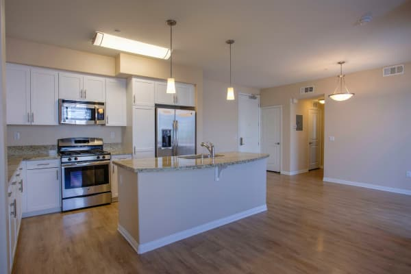 Kitchen and Living Room at Palisades Sierra Del Oro in Corona