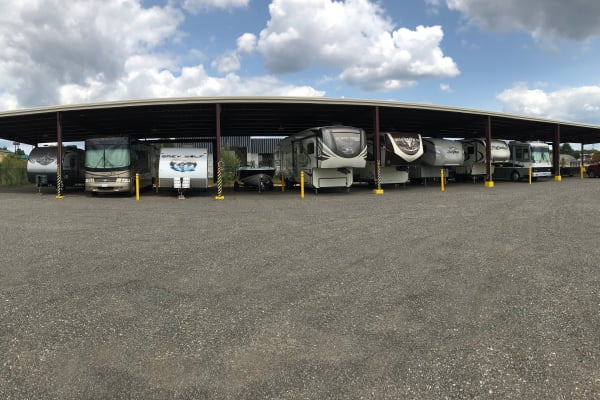 RV Storage available at Byron Self Storage
