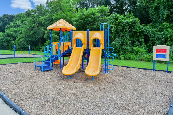 Beautiful playground at Wedgewood Hills Apartment Homes in Harrisburg, Pennsylvania