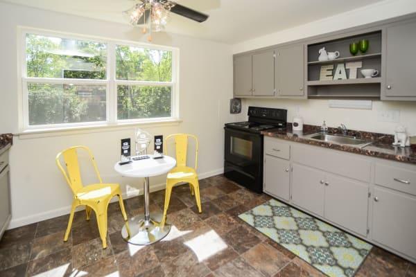 Spacious kitchen at apartments in Harrisburg, Pennsylvania