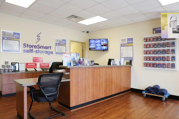 Office at StoreSmart Self-Storage in Warner Robins, Georgia