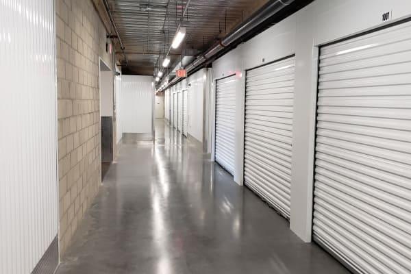 Interior of StorQuest Self Storage in Anaheim, CA