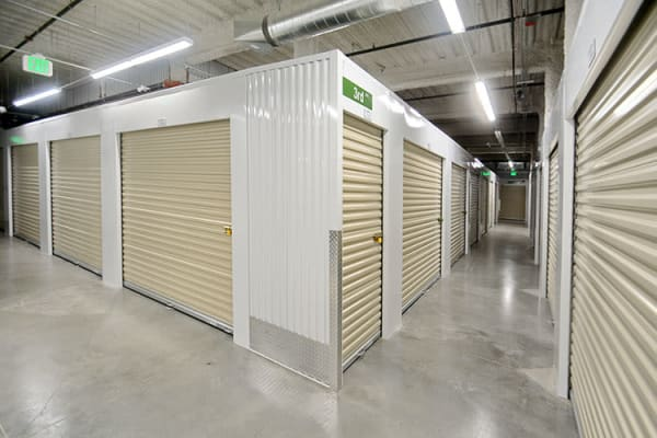 Large indoor units at Edgemark Self Storage Arvada in Arvada, Colorado