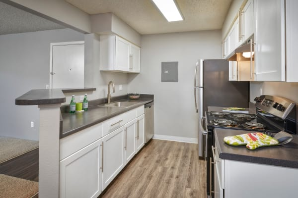 Kitchen at Alton Green Apartments in Denver