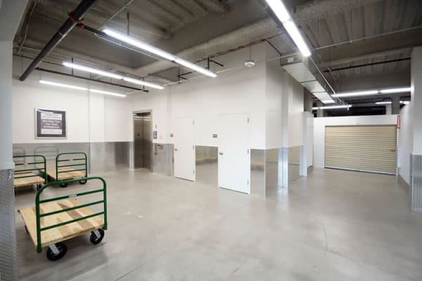 Edgemark Self Storage - Glendale offers customers use of dollies and carts in Glendale, Colorado