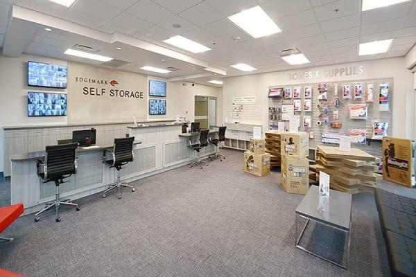 Edgemark Self Storage - Glendale in Glendale, Colorado lobby