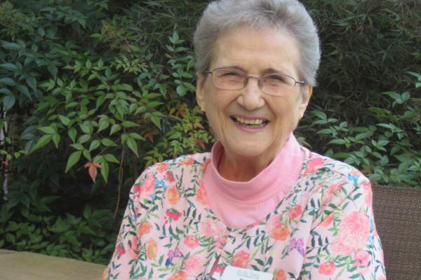 Rose Marcaccio, a resident at BellaVista Gracious Retirement Living in Asheville, North Carolina