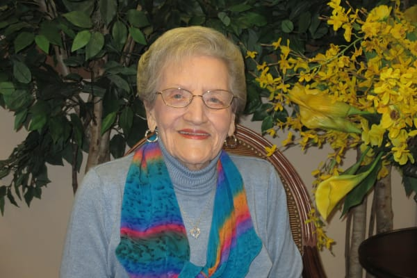 Evelyn Posey at Bella Vista Gracious Retirement Living in Asheville, North Carolina