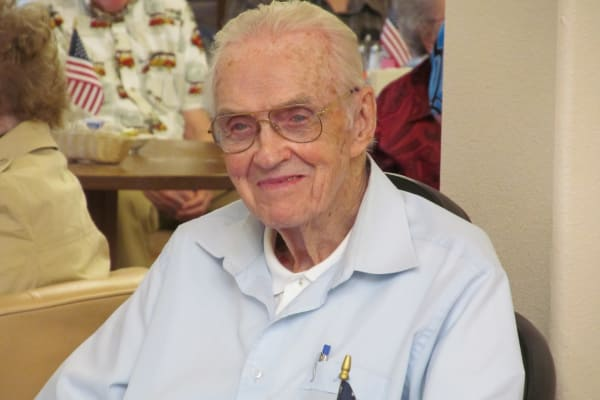 A resident at Desert Springs Gracious Retirement Living in Oro Valley, Arizona