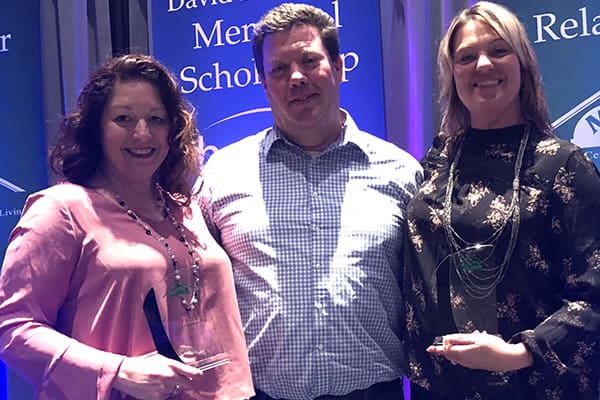 Brookridge Heights team received a MCAL public relations award in Marquette, Michigan