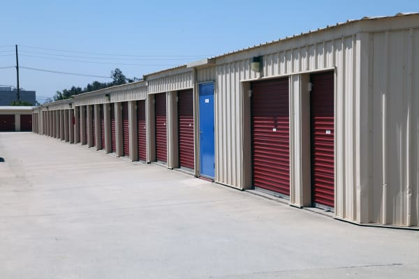 Self storage units for rent at Trojan Storage in Rancho Cucamonga, California