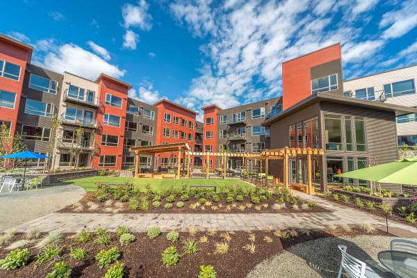 Exterior of South Block Apartments in Salem, Oregon