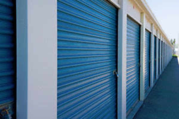 Front view of the leasing office at Stor-All Self Storage in Melissa, Texas