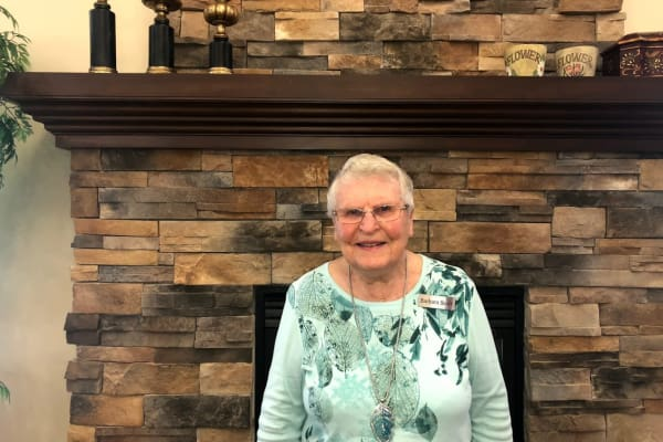 Barb Scarr at Heritage Meadows Gracious Retirement Living in Cambridge, Ontario