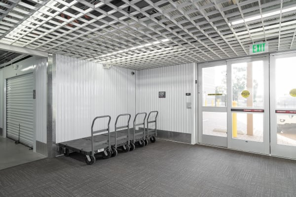 Climate controlled storage at La Mesa self storage