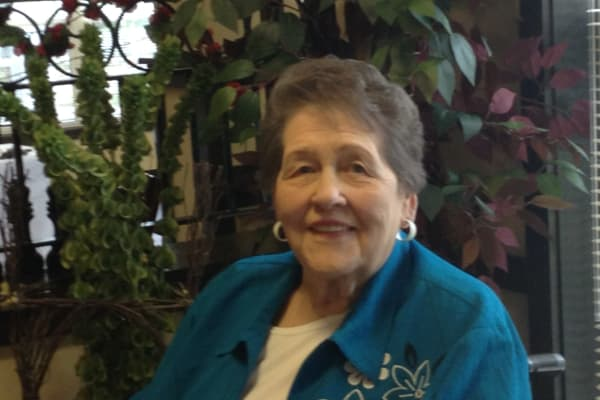 Marge Buchanan at Orchard Heights Gracious Retirement Living in Clermont, Florida