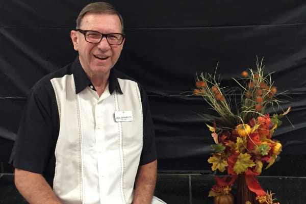 Jack Brannock at Paloma Landing Retirement Community in Albuquerque, New Mexico