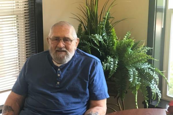Walter Skalniak at Stoneridge Gracious Retirement Living in Cary, North Carolina