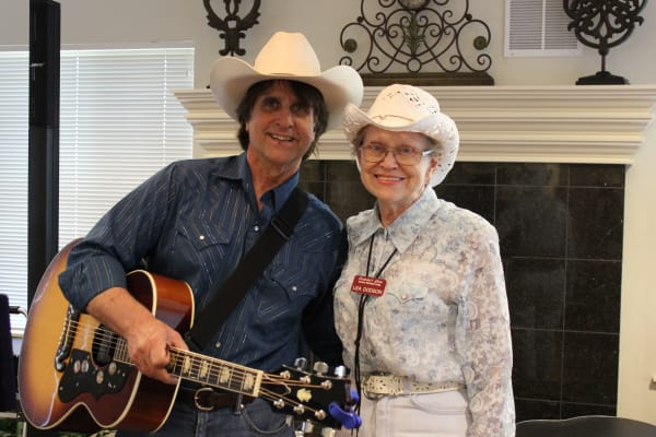 A resident and musical guest at Summit Glen in Colorado Springs, Colorado