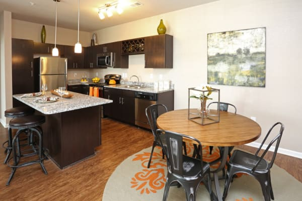 kitchen at Springs at Hurstbourne in Louisville