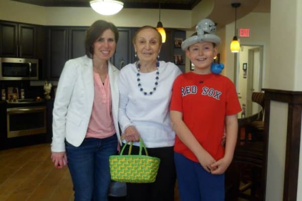 Carmella Brown at The Highlands Gracious Retirement Living in Westborough, Massachusetts