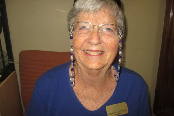 Carolyn McVeigh at The Peaks at Santa Rita in Green Valley, Arizona