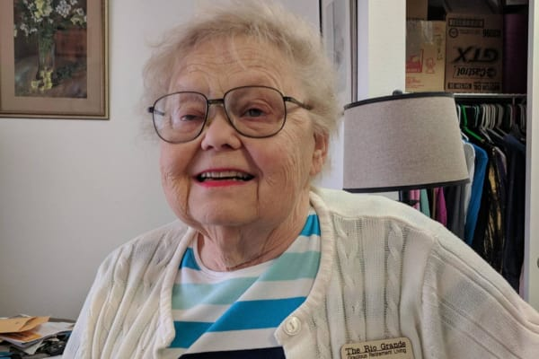 Phyllis Bendtsen at The Rio Grande Gracious Retirement Living in Rio Rancho, New Mexico
