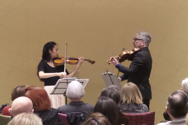 Signature Event Featuring Acclaimed Violin Viola Duo Gabe and Steffani Kitayama-Bolkosky